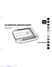Jbl GX-A604 Manuals