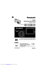 Panasonic LUMIX DMC-TZ6 Manuals