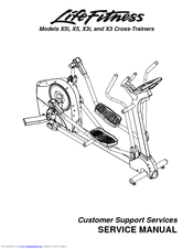 Life Fitness X5 Manuals