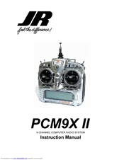 Jr PCM9X II Manuals