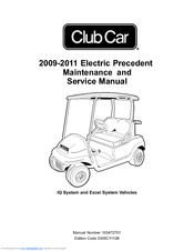 Club Car 2010 Precedent Manuals