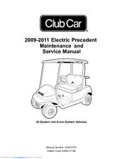 Club Car 2010 Precedent Manuals