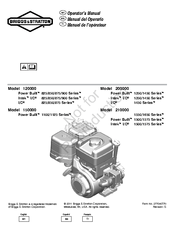 Briggs & Stratton Power Built 1100 Series Manuals