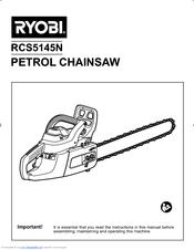 Ryobi RCS5145N Manuals