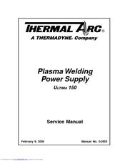 Thermal Arc ULTIMA 150 Manuals