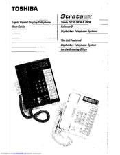 Toshiba Strata DK 96 Manuals