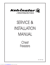 Kelvinator 4DF-13 Manuals