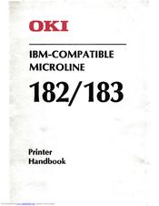 Oki Microline 182 Manuals