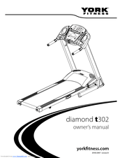 York Fitness diamond t300 Manuals