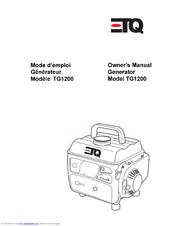 Etq TG1200 Manuals