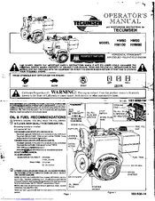 Bestseller: Tecumseh Snowblower Engine Manual