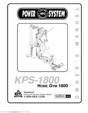 Keys Fitness Power System KPS-1800 Manuals