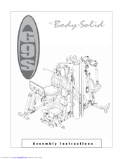 Body Solid G9S Manuals