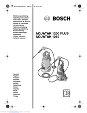 Bosch Aquatak 1200 Plus Manuals