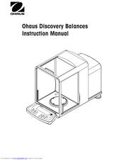 Ohaus DV214C Manuals