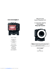 Canon PowerShot G15 Manuals