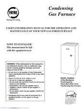 Payne PG9MAA Manuals
