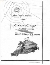 Chris-craft 283 V-8 Manuals