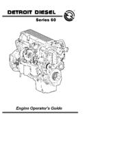Detroit Diesel 60 Manuals