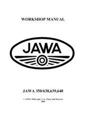 Jawa 638 Manuals