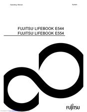 Fujitsu LIFEBOOK E554 Manuals