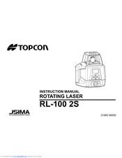 Topcon RL-100 2S Manuals
