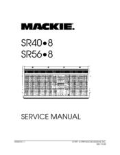 Mackie SR40.8 Manuals