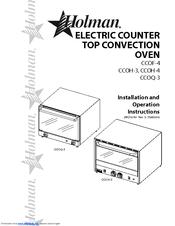 Holman CCOH-3 Manuals