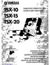 Yamaha CRX-TS20 Manuals