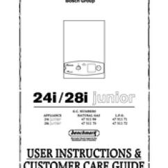 Worcester Bosch 24i System Boiler Wiring Diagram Ford 4 0 Sohc Engine Junior User Instructions Customer Care Manual Pdf Download