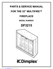 Dimplex MULTIFIRE DF3215 Manuals