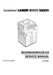 Ricoh Aficio 1015 Manuals