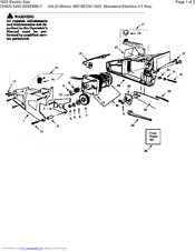 Poulan Pro 2150 Manuals