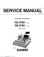 Casio CE-3700 Manuals