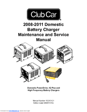 Club Car PowerDrive 2 22110-18 Manuals