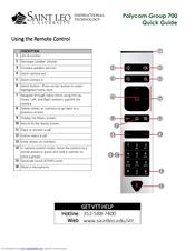 Polycom RealPresence Group 700 system Manuals