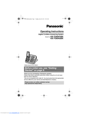 Panasonic KX-TGA652 Manuals