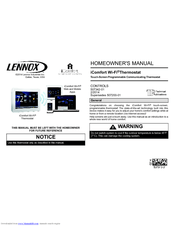 Lennox icomfort Wi?Fi Thermostat Manuals