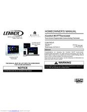 Lennox icomfort Wi?Fi Thermostat Manuals