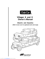 Club Car Villager 8 Manuals
