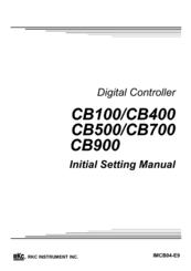 Rkc Instrument CB100 Manuals