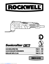 Rockwell Sonicrafter F50 RK5141K Manuals
