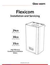 Glow-worm Flexicom 30cx Manuals