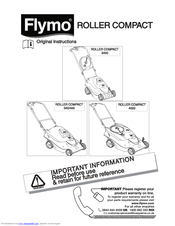 Flymo ROLLER COMPACT 4000 Manuals