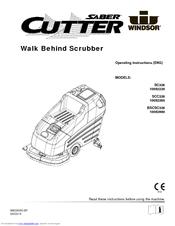 Windsor Saber Cutter SCC326 Manuals