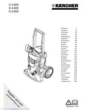 Karcher K 5.600 Manuals