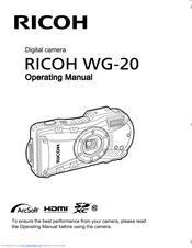 Ricoh WG-20 Manuals