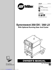 Miller Syncrowave 350 LX Manuals