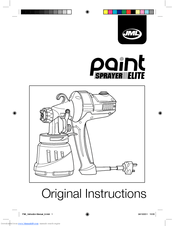 Jml Paint Sprayer Elite Manuals