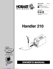 Hobart Handler 210 Manuals